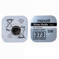 Батарейка Maxell 373 BL1 Silver Oxide 1.55V б/р