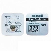 Батарейка Maxell 379 BL1 Silver Oxide 1.55V б/р