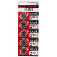 Батарейка Maxell CR2025 BL5 Lithium 3V (5/100/2000)