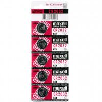 Батарейка Maxell CR2032 BL5 Lithium 3V (5/100/2000)