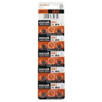 Батарейка Maxell G3/LR736/LR41/392A/192 BL10 Alkaline 1.5V (10/200/3600/7200)