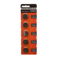 Батарейка Minamoto CR2025 BL5 Lithium 3V (5/100/5000)