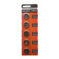 Батарейка Minamoto CR2032 BL5 Lithium 3V (5/100/5000)