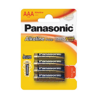 Батарейка Panasonic Power LR03 AAA BL4 Alkaline 1.5V (4/48/240)