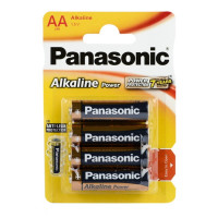Батарейка Panasonic Power LR6 AA BL4 Alkaline 1.5V (4/48/240)