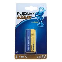 Батарейка Pleomax Крона 6LR61 BL1 Alkaline 9V (1/10/200/7200)