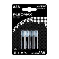 Батарейка Pleomax ECONOMY LR03 AAA BL4 Alkaline 1.5V (4/40/400)
