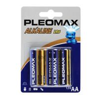 Батарейка Pleomax LR6 AA BL4 Alkaline 1.5V (4/40/400/19200)