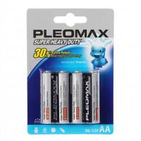 Батарейка Pleomax Super R6 AA BL4 Heavy Duty 1.5V (4/40/720/17280)
