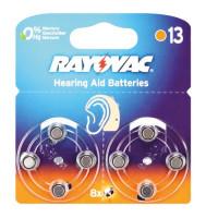 Батарейка Rayovac ACOUSTIC ZA13 BL8 Zinc Air 1.45V 0%Hg