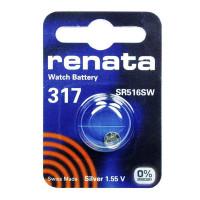 Батарейка Renata 317 Silver Oxide 1.55V (1/10/100)
