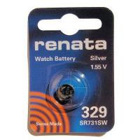 Батарейка Renata 329 Silver Oxide 1.55V (1/10/100)