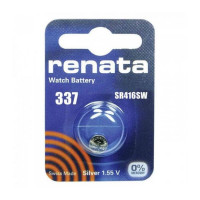 Батарейка Renata 337 Silver Oxide 1.55V (1/10/100)