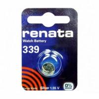 Батарейка Renata 339 BL1 Silver Oxide 1.55V (1/10/100)