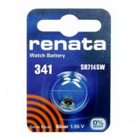 Батарейка Renata 341 BL1 Silver Oxide 1.55V (1/10/100)