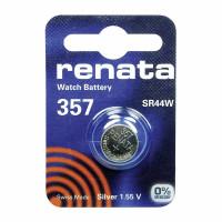 Батарейка Renata 357 Silver Oxide 1.55V (1/10/100)