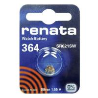 Батарейка Renata 363/364 Silver Oxide 1.55V (1/10/100)
