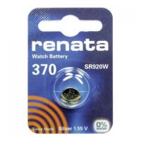 Батарейка Renata 370 BL1 Silver Oxide 1.55V (1/10/100)