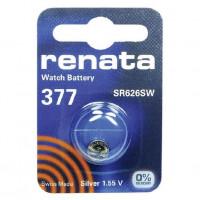 Батарейка Renata 377 Silver Oxide 1.55V (1/10/100)