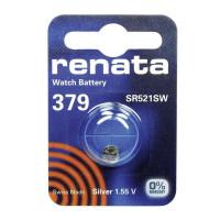 Батарейка Renata 379 Silver Oxide 1.55V (1/10/100)
