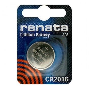 Батарейка Renata CR2016 BL1 Lithium 3V (1/10/300/36000)