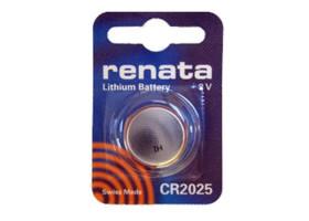 Батарейка Renata CR2025 BL1 Lithium 3V (1/10/300/36000)