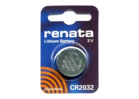 Батарейка Renata CR2032 BL1 Lithium 3V (1/10/300/36000)