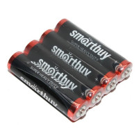Батарейка Smartbuy Super R03 AAA Shrink 4 Heavy Duty 1.5V (4/60/600)