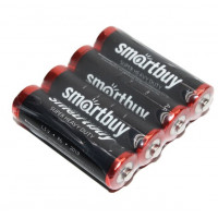 Батарейка Smartbuy Super R6 AA Shrink 4 Heavy Duty 1.5V (4/60/600)