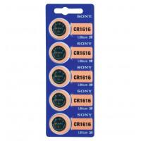 Батарейка Sony CR1616 BL5 Lithium 3V (5/100/500/70000)