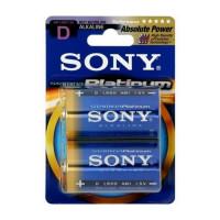 Батарейка Sony Stamina Plus LR20 D BL2 Alkaline 1.5V (2/24/96/3168)