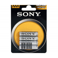 Батарейка Sony NEW ULTRA R03 AAA BL4 Heavy Duty 1.5V (4/48/240/39360)