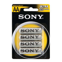 Батарейка Sony NEW ULTRA R6 AA BL4 Heavy Duty 1.5V (4/48/240/23760)