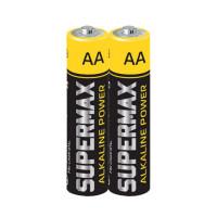 Батарейка Supermax LR03 AAA Shrink 2 Alkaline 1.5V (2/60/1200)