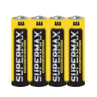 Батарейка Supermax Super R03 AAA Shrink 4 Heavy Duty 1.5V (4/60/600)