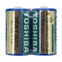 Батарейка Toshiba R20 D Shrink 2 Heavy Duty 1.5V (2/20/200)