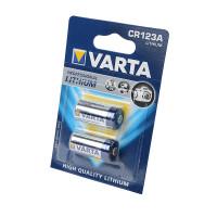 Батарейка Varta CR123A BL2 Lithium 3V (6205) (2/20/200)
