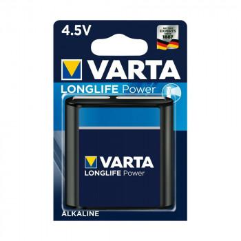 Батарейка Varta LONGLIFE POWER 3LR12 BL1 Alkaline 4.5V (4112) (1/10/100)