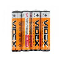 Батарейка Videx R03 AAA Shrink 4 Heavy Duty 1.5V (4/60/1440)