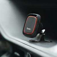 Держатель для смартфона HOCO CA24 Lotto series magnetic automotive center adsorbed  holder черный