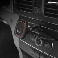 Держатель для смартфона HOCO CA25 Lotto series magnetic CD Port holder черный