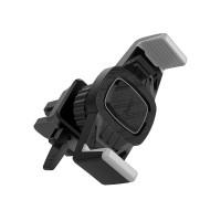 Держатель для смартфона HOCO CA38 Platinum sharp air outlet in-car holder black&grey
