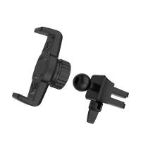 Держатель для смартфона HOCO CA38 Platinum sharp air outlet in-car holder черный