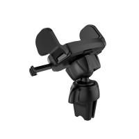 Держатель для смартфона HOCO CA39 Triumph air outlet semi-automatic in-car holder черный