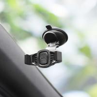 Держатель для смартфона HOCO CA40 Refined suction cup base in-car dashboard phone holder черный