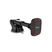 Держатель для смартфона HOCO CA42 Cool Journey in-car dashboard holder with stretch rod черно-красный
