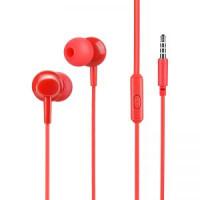 Наушники HOCO M14 initial sound universal earphones with mic красный