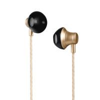 Наушники HOCO M18 Goss metal universal earphone with mic золото