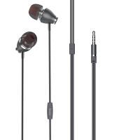 Наушники HOCO M28 Ariose universal earphones with mic серый