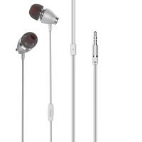 Наушники HOCO M28 Ariose universal earphones with mic белый